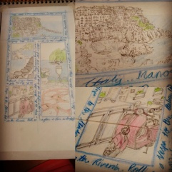 Sketching the Italian Riviera for Challenge No.2